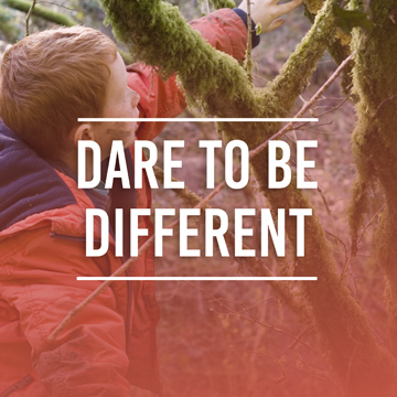 Dare To Be Different Image Button